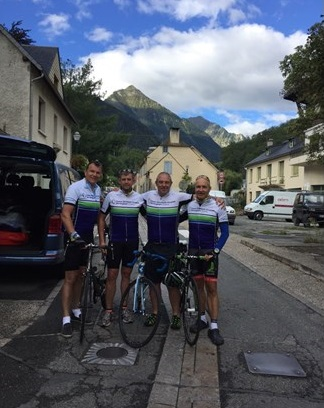 Our managing director, Mark Upton, and his friends The Cycling Surgeons  are raising money again for cancer research at the Queen Elizabeth II hospital in Birmingham